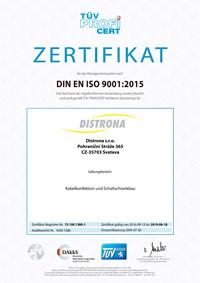 TÜV Zertifikat - deutsch